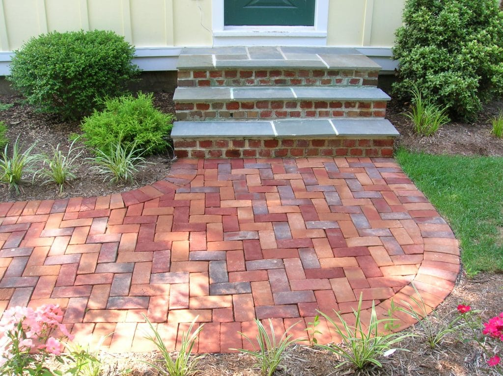 Brick walkway - Falls Church, VA