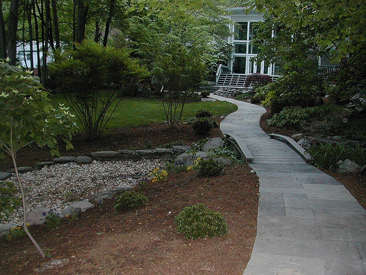 Flagstone walkway builder in Fairfax VA